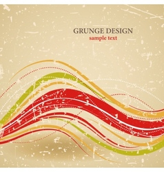 Abstract grunge design vector
