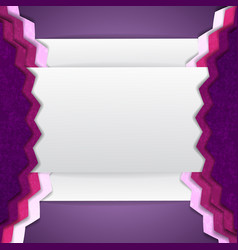 Abstract purple composition vector