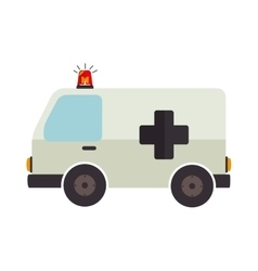 Ambulance emergency fast vehicle rescue vector