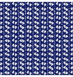 Doodle blue seamless pattern vector image vector image