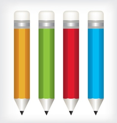 pencil color vector image vector image