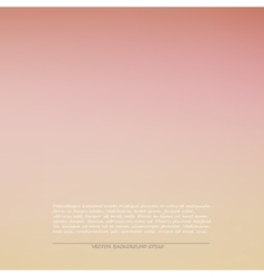 Pink smooth background vector image