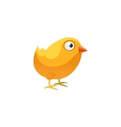 Chicken simplified cute vector