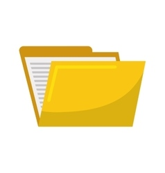 Folder icon file design graphic vector