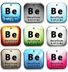 The beryllium element vector