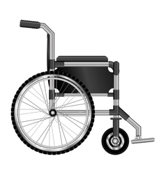 Wheelchair design medical element icon vector