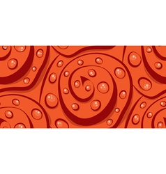 Seamless abstraction of spirals and circles modern vector