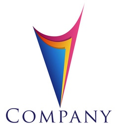 Beautiful corporate emblem design template for you vector