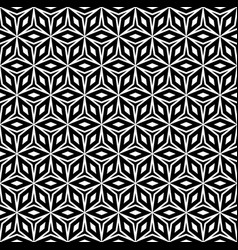 Repeat monochrome geometric texture vector