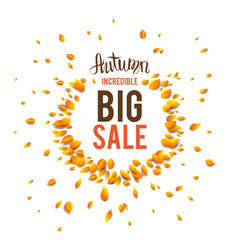 Seasonal incredible sale vector