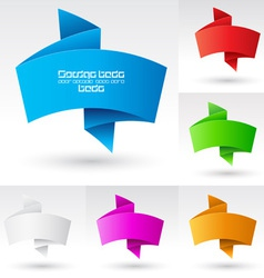 Wave banners vector