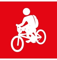 Bike ride design vector