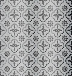 pattern glass design vector image