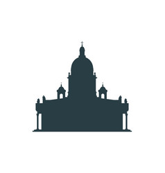 Saint isaac cathedral in saint petersburg russia vector