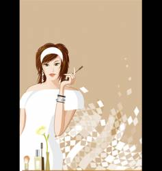 women fashion vector image vector image