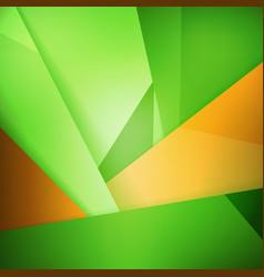 Abstract background soft blurred green and orange vector