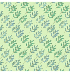 Abstract background with leaves vector