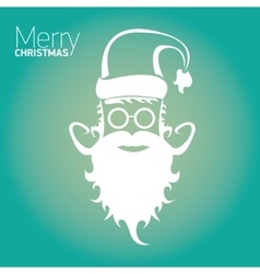 Christmas hipster poster for party or card vector