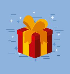 gift image flat vector image