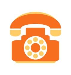 Phone symbol icon on white vector
