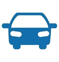 Transportation design car icon flat and isolated vector