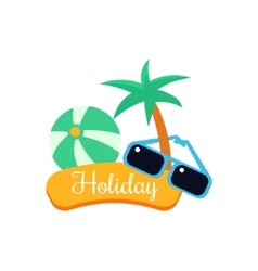 Exotic Holiday vector image vector image