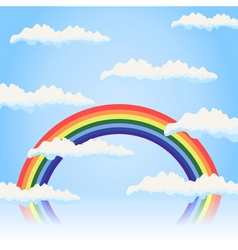 rainbow4 vector image