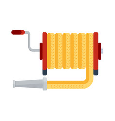 fire hose icon vector image