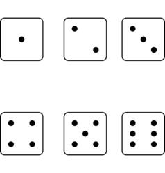 6 dice vector