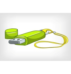 Cartoons usb memory vector