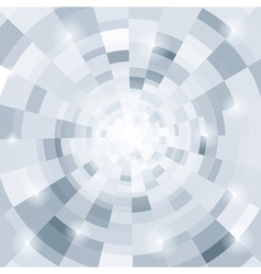 Abstract circular gray background for your design vector image vector image