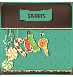 sweet vintage vector image vector image