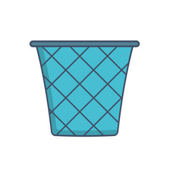 trash icon image vector image