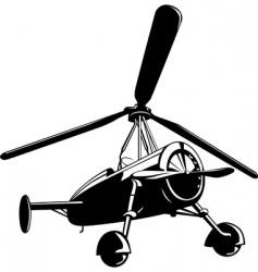 vector auto gyro vector image vector image