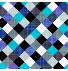Seamless geometric rhombus pattern vector