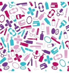 Drugstore seamless pattern vector