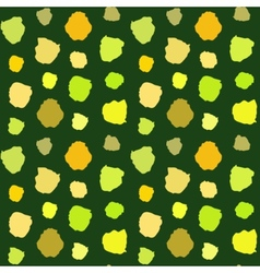 Green Blots Pattern vector image