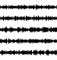 Sound waves set eps 10 vector