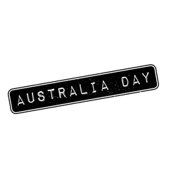 Australia day rubber stamp vector