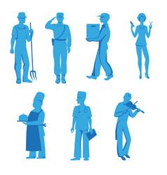 profession vector image