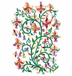 Renaissance floral vector