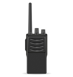 Walkie talkie 01 vector