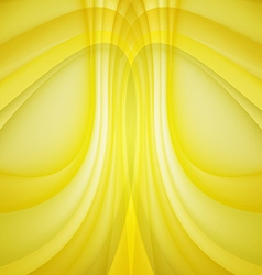 Abstract background yellow lines vector image vector image