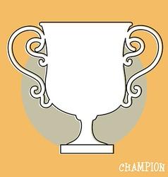 Champions award vector
