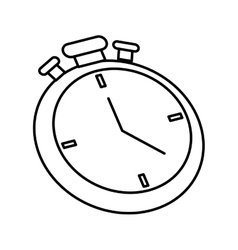Chronometer icon time design graphic vector image