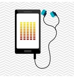 digital sound design vector image