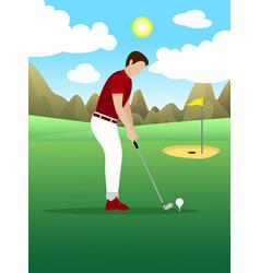 light sport recreation template vector image