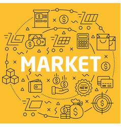 Linear market vector