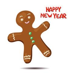 gingerbread ilustration vector image