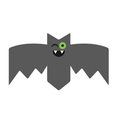 Bat emotional vampire the character for vector